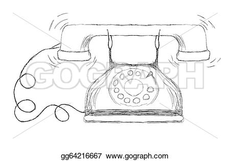 Ancient clipart telephone #1