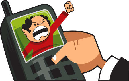 Telephone clipart angry Clipart Call Phone Angry Phone