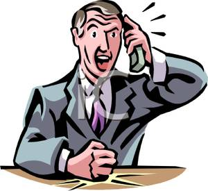 Telephone clipart angry Image: Art Telephone At the