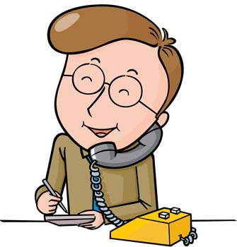 Telephone clipart answer phone On Clip Free Clip Phone