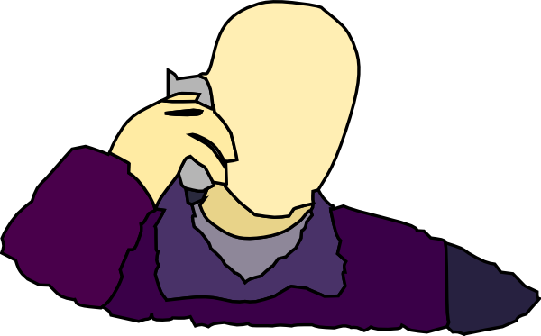 Telephone clipart answer phone Image com Clker Art as: