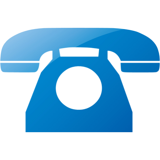 Telephone clipart blue png  phone 2 2 icon