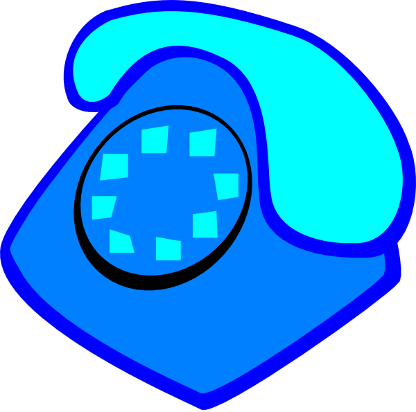 Telephone clipart blue png At small Clip large medium