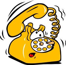 Telephone clipart cartoon Cartoon Clipart Graphics cartoon Free