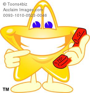 Telephone clipart cartoon Cartoon stock clipart cartoon a