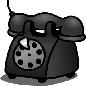 Telephone clipart cartoon Telephone Art at clip Old