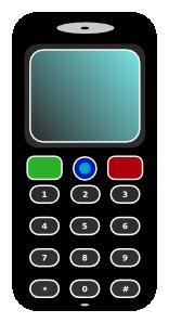 Phone clipart mbile #3