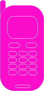 Phone clipart pink Cell cell Phone Pink icon