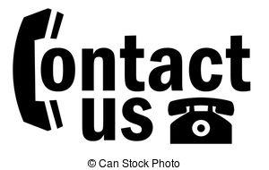 Telephone clipart contact me Call Call Stock EPS Me