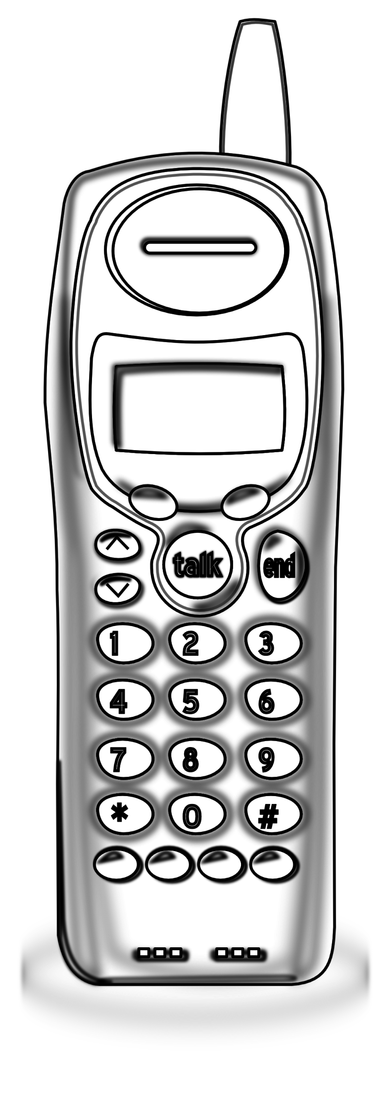 Telephone clipart cordless telephone Basestation  Pages Clipartistnet Clip