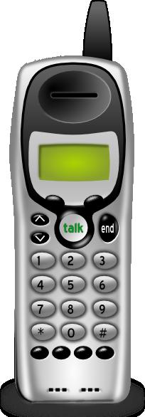 Telephone clipart cordless telephone Image clip at Art art