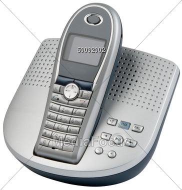 Telephone clipart cordless telephone & Machine Photo Stock Clipart