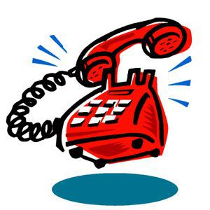 Telephone clipart emergency contact Say write you this: contact