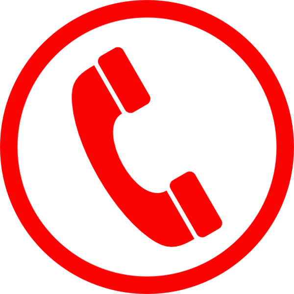 Telephone clipart emergency contact Symbol Clker Telephone this art