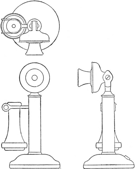 Telephone clipart first telephone B telephone Pinterest A Drawing