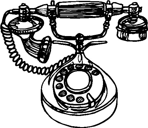 Telephone clipart first telephone Clip Clip art 241483 Art