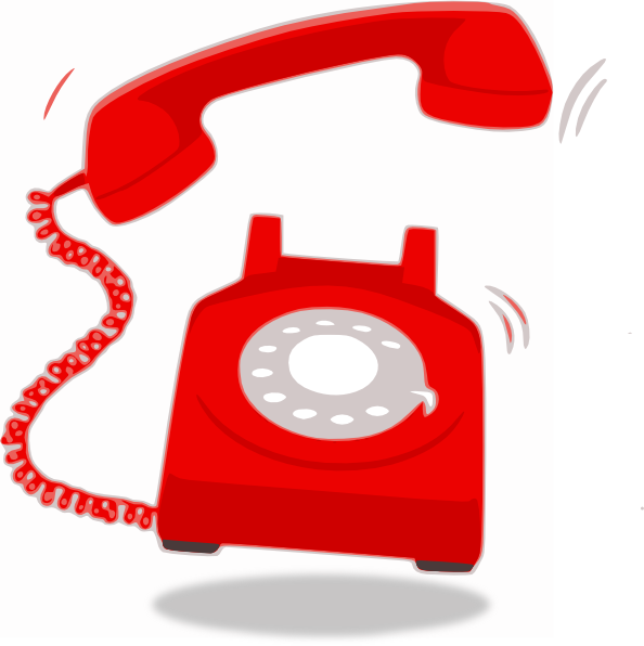 Phone clipart vector #9