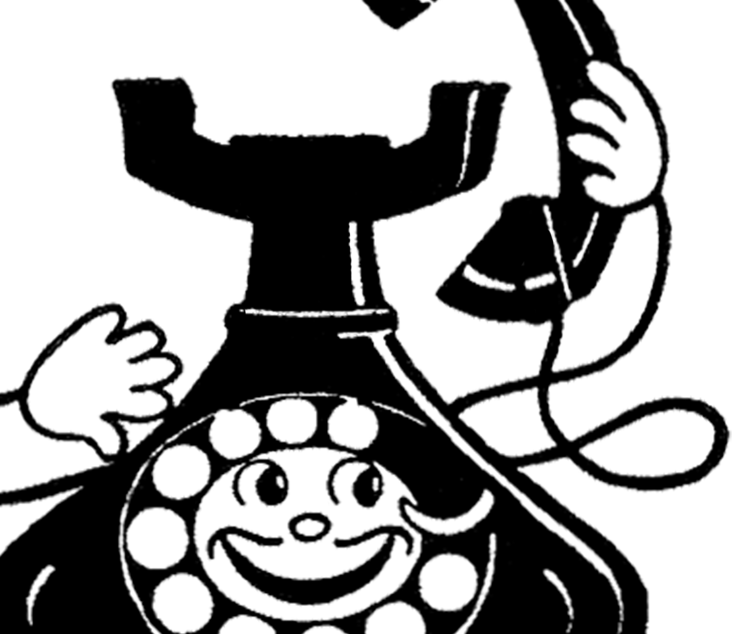Telephone clipart funny Funny The Vintage Graphics