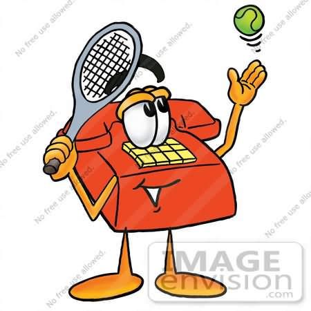 Telephone clipart funny Tennis Clipart With Pictures 20