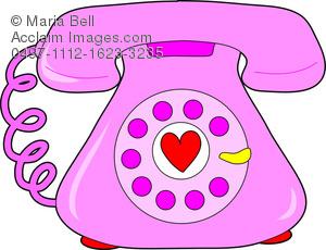 Telephone clipart heart Telephone heart heart  photos