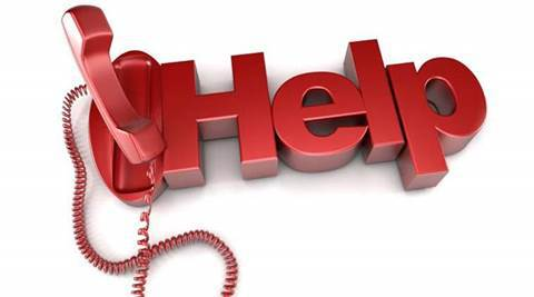 Phone clipart helpline Helpline up Indian RBI customers