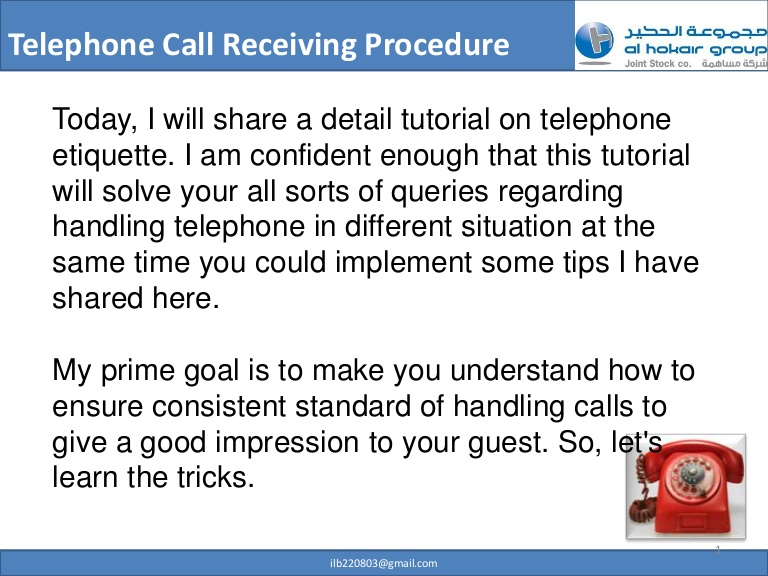 Telephone clipart hotel reservation  telephone Professional etiquette