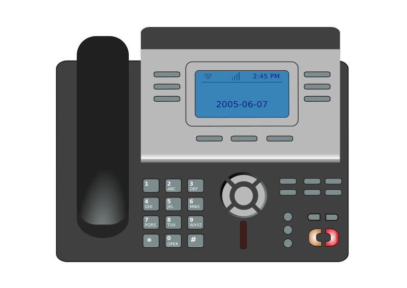Phone clipart ip phone Art Download Clip – Over