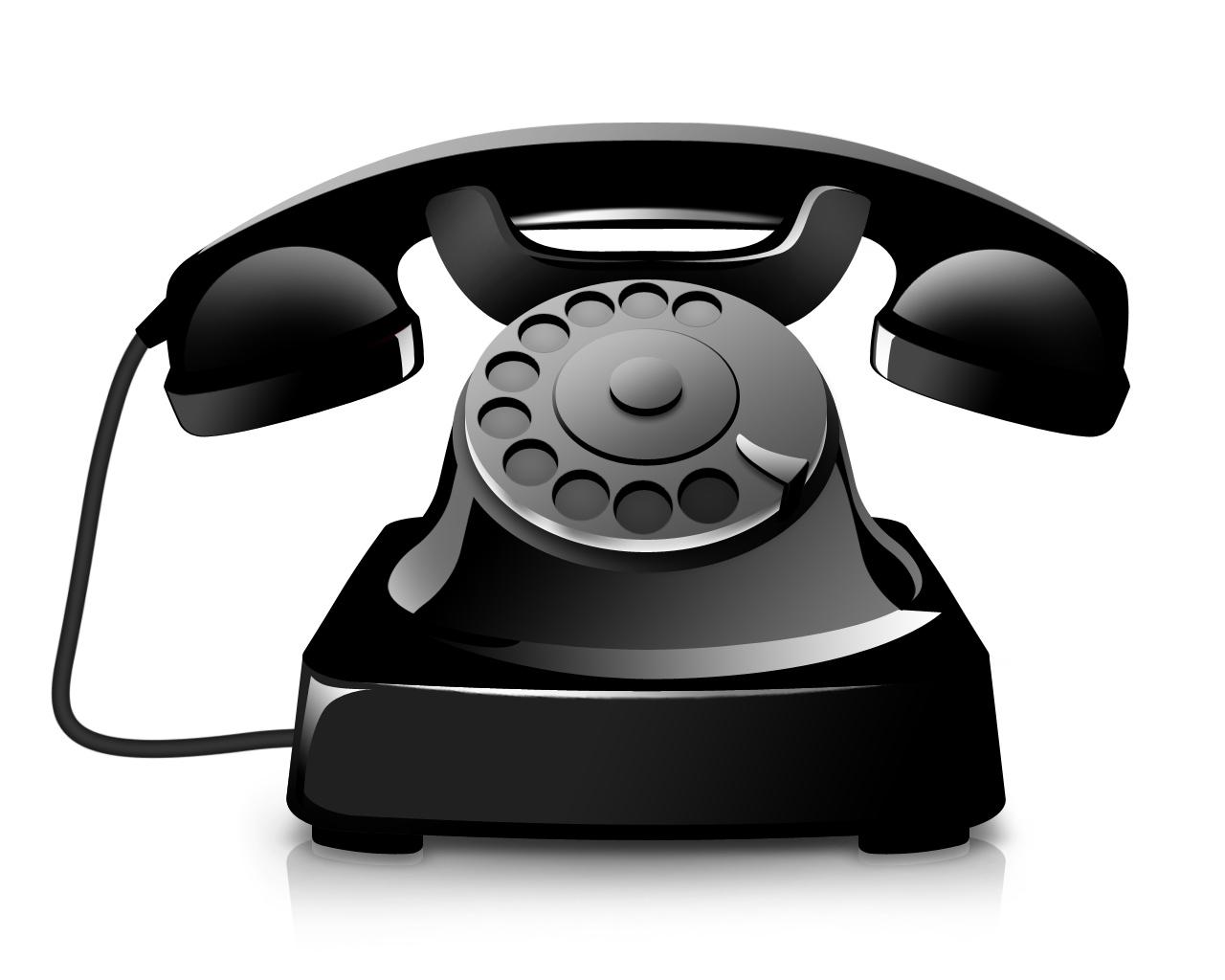 Phone clipart landline phone Telephone Clipart Landline Telephone Telephone