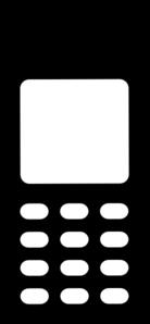 Telephone clipart mobile logo Art Mobile Art vector