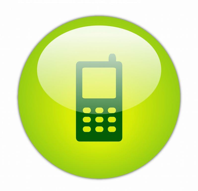 Telephone clipart mobile logo Art Mobile Template Logo Clip