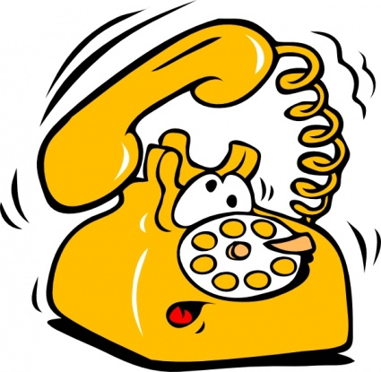 Telephone clipart old phone Art Old Clip clip Telephone