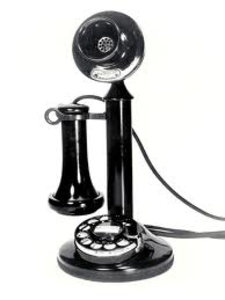 Telephone clipart old phone Phone at Old Clker com