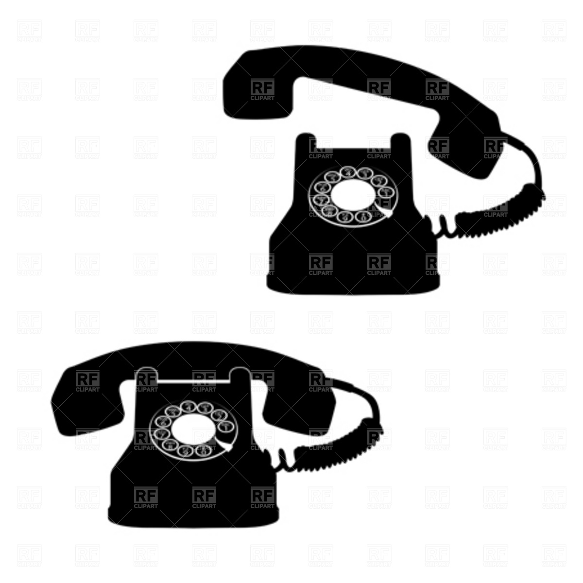 Telephone clipart old phone Clipart Clipart Phone Images —
