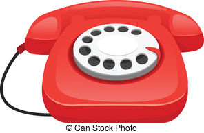 Telephone clipart old phone Art old Clip phone blue