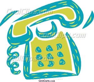 Art Telephone ringing Clip ringing