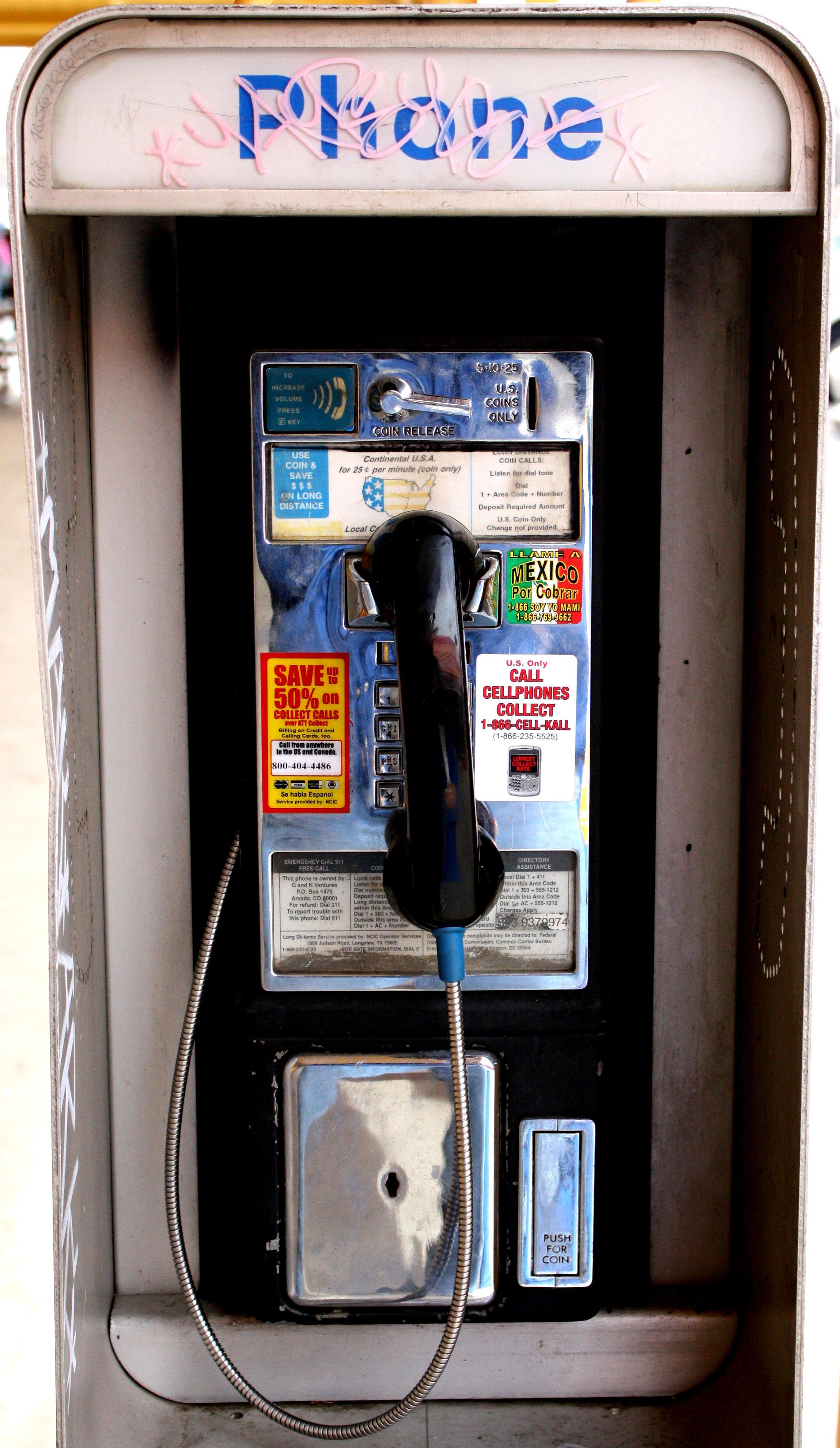 Telephone clipart public phone Photos Photograph Phone Public Pay