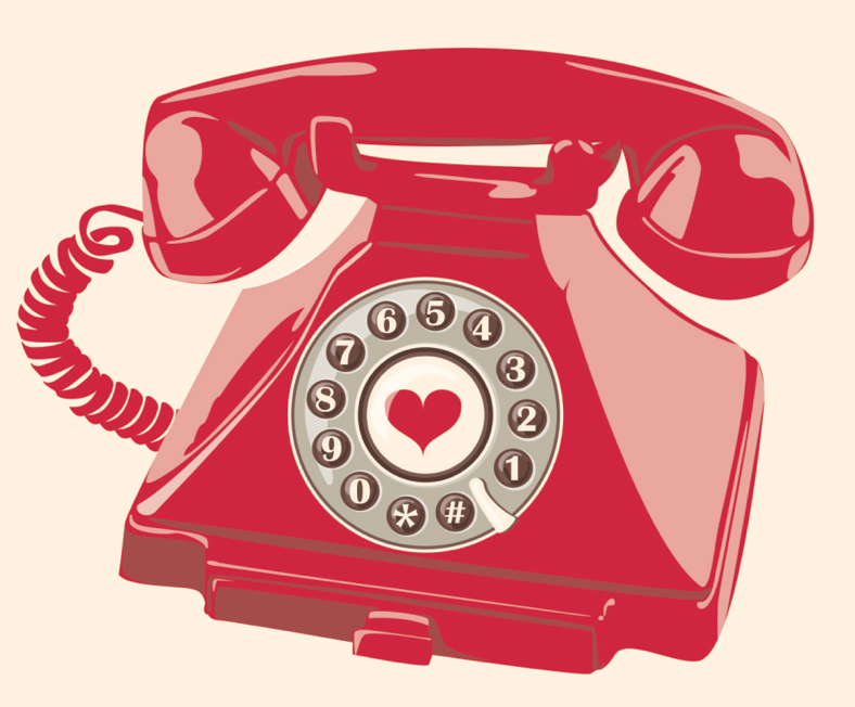 """Telephone clipart rang My rang """"encouragement"""") did in"""