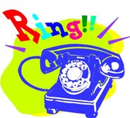 Telephone clipart rang Shakespeare few Club: later answered