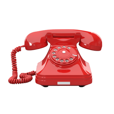 PNG Telephone Red Clipart transparent