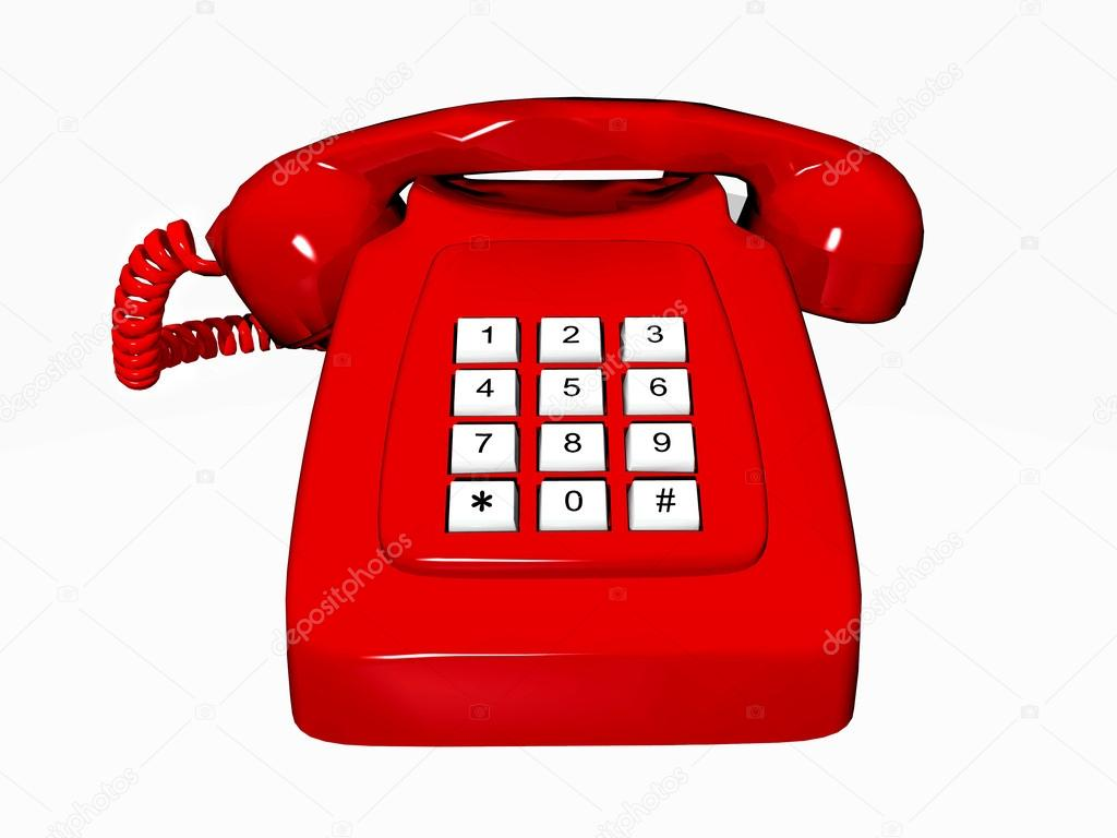 #3637964 Old Red Telephone Photo