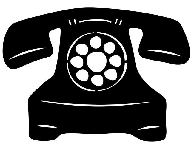Telephone clipart rotary phone Telephone 11530 Clipart ClipartFan Clipart