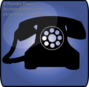 Telephone clipart rotary phone Button Icon Icon Business of
