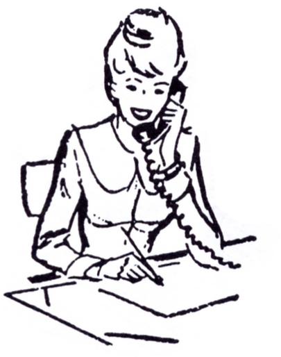 Telephone clipart secretary Panda Clipart Art Free Phone