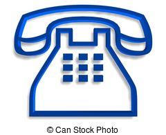 Telephone clipart simbol Symbol symbol Clip Telephone Blue
