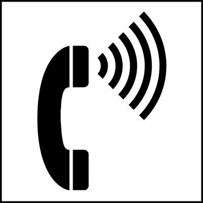 Telephone clipart simbol Clip Control Telephone Handicap Art