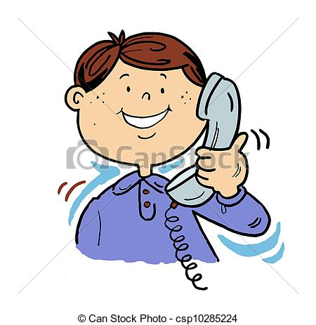 Phone clipart telephone conversation The telephone csp10285224 Clip Art