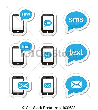 Phone clipart text message Clip 252 and Illustrations Text