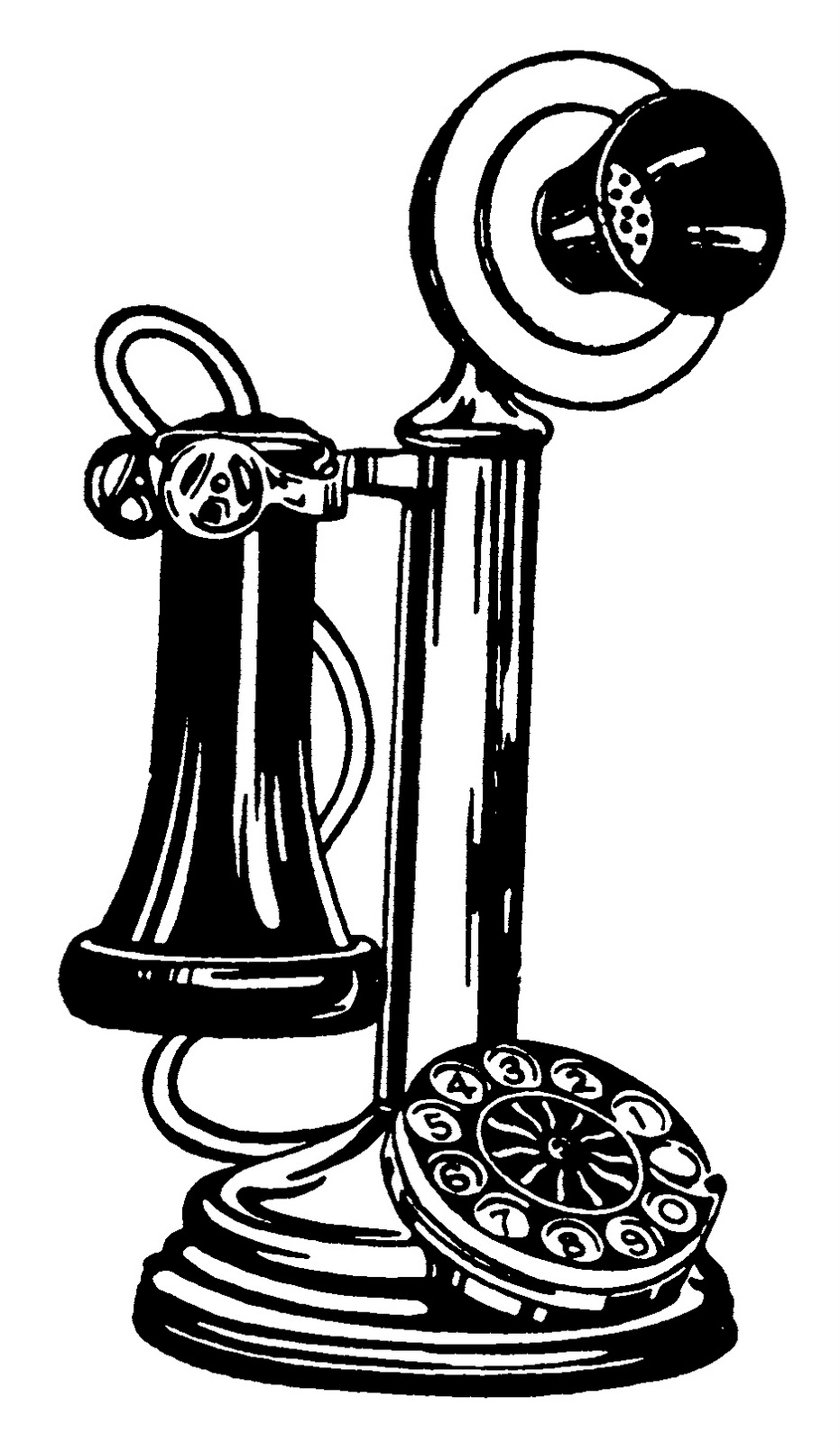 Telephone clipart vintage telephone Old vintage telephone old ×