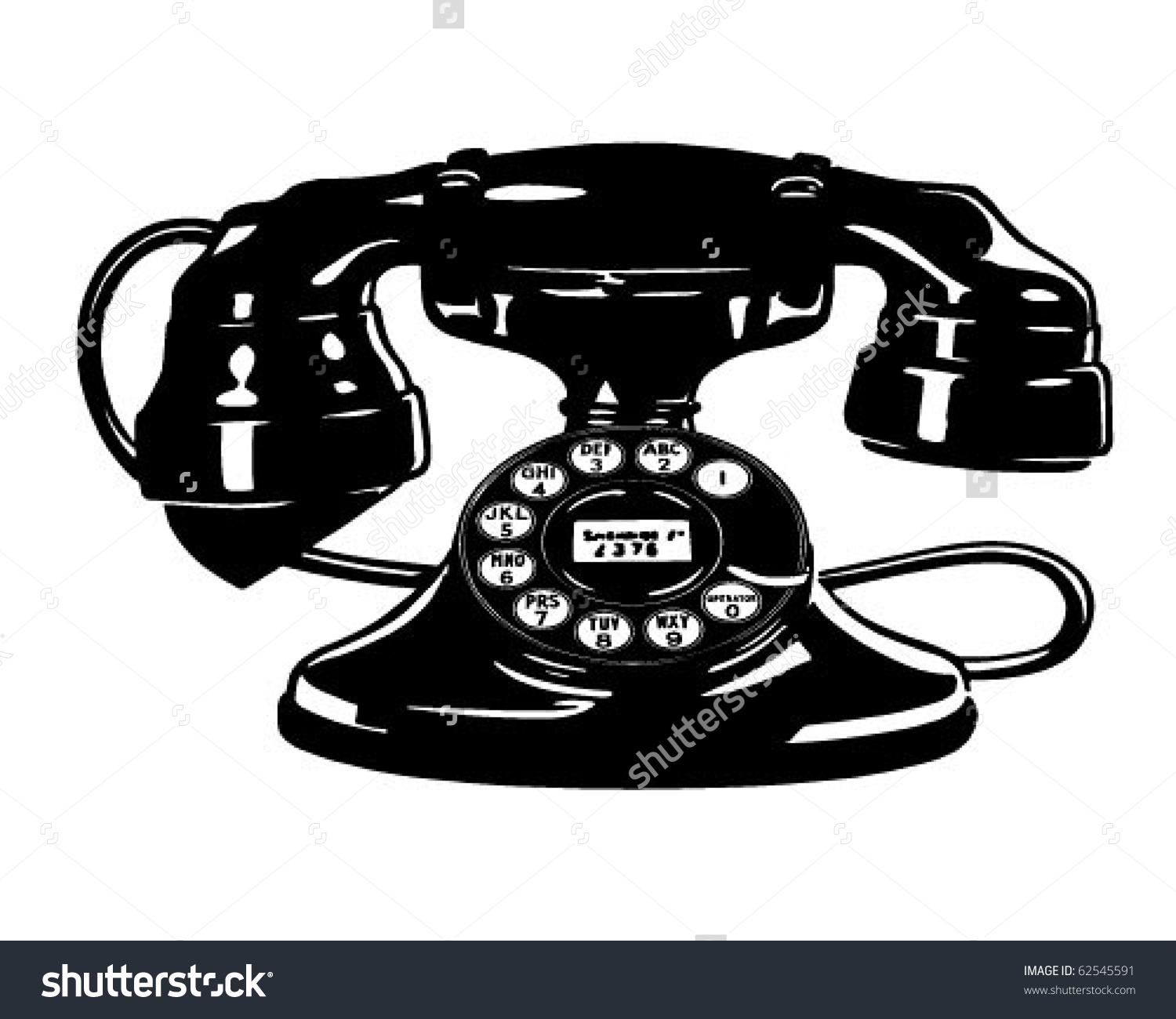 Telephone clipart vintage telephone Phone art clipart clip Free