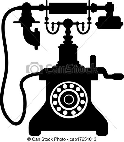 Ancient clipart telephone #3